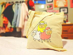 Nákupné tašky - Ovečky - 5254100_