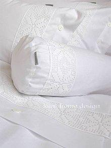 Úžitkový textil - Obliečka valec MICHAELA - 5254014_