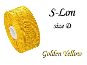 Galantéria - S-Lon (Superlon) D Golden Yellow 71m, bal.1ks - 5251486_