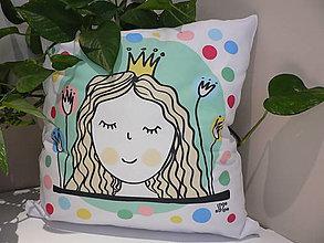 Úžitkový textil - Sleeping princess - 5255352_