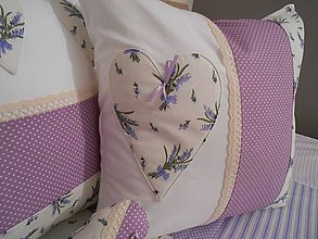Úžitkový textil - Levanduľa  sada vankúšov - zvýhodnená cena - 5258566_