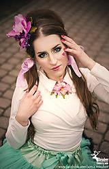 Náhrdelníky - Nahrdelník/golierik Vitage Romantic - 5260463_