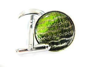 Šperky - Manžetové gombíky Valentín 1 - 5258308_