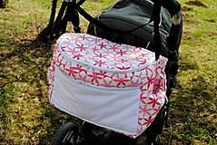 Nákupné tašky - Obrovská taška na kočík - 5263456_