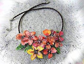 Náhrdelníky - garden flovers 3 - 5262547_