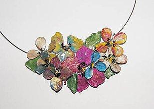 Náhrdelníky - pearl flowers - 5263922_