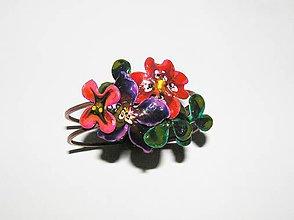 Náramky - divoké kvety náramok - 5263971_