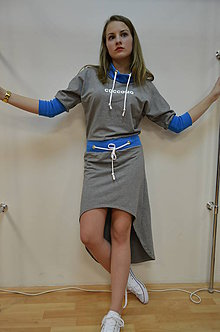 Šaty - mikinové šaty BY coccomo JAR 2015 - 5262755_