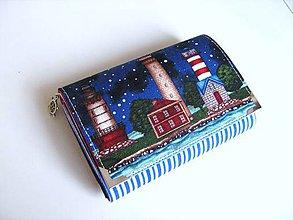 Peňaženky - Vše ohlídáme :-) - námořnická - zipová i na karty - 5262470_