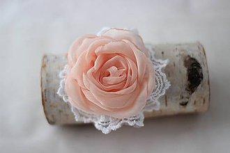 Ozdoby do vlasov - Marhulový kvet do vlasov - 5260936_