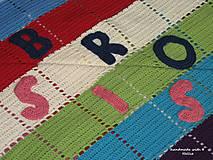 Textil - Dúhový set pre dvojičky - 5262960_