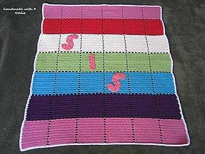 Textil - Dúhová deka - 5263019_