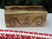 Svietidlá a sviečky - Svietnik vypaľovaný II. - 5263314_