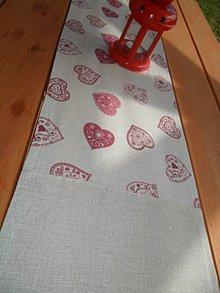Úžitkový textil - Vidiecka štóla 160x25 cm - 5264572_