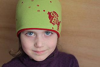 Detské čiapky - Rybičková - 5266478_