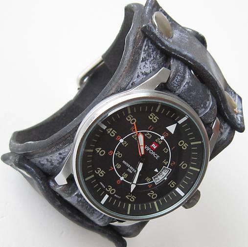 31fcb740b Retro hodinky pánske, modré / leon - SAShE.sk - Handmade Náramky