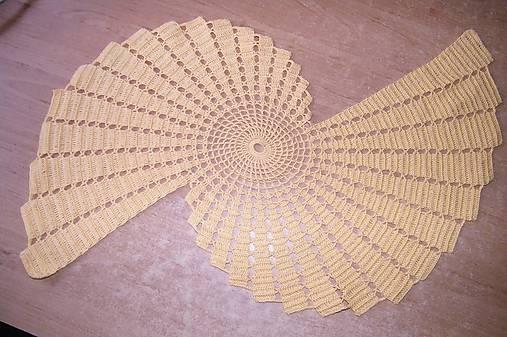 Žltá háčkovaná krása   DanielaTka - SAShE.sk - Handmade Úžitkový textil ec592ad8c1