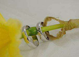 Prstene - Moje srdiečko zafír - 5269110_