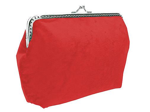Dámská kabelka červená 04705A