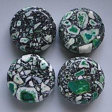 Minerály - MARBLE 20mm-1ks (zelená) - 5268122_