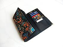Peňaženky - Barevné Bublinky - 17 cm, na spoustu karet - 5271105_