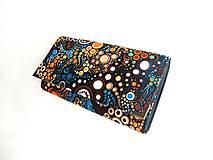 Peňaženky - Barevné Bublinky - 17 cm, na spoustu karet - 5271131_