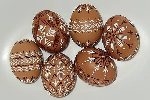 Dekorácie - Kraslice Čokoláda so šľahačkou - 5272602_