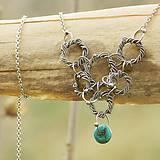 Náhrdelníky - Věnečky - náhrdelník - 5273889_