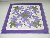 Úžitkový textil - Levanduľový obrus - 5272158_