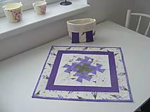 Úžitkový textil - Levanuľový obrus - 5272168_