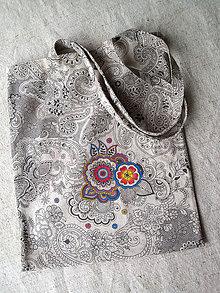 Nákupné tašky - ✿ taška kvetaška ✿ - 5272393_