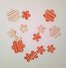 Papier - rôzne výrezy z papiera - materiál - 5272077_
