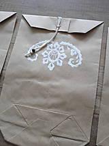 Papiernictvo - kupecké sáčky, darčekové balenie (b) - 5272297_
