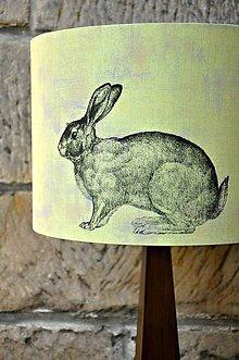 Svietidlá a sviečky - Stínítko Zajíc - stolní/stropní - 5275349_