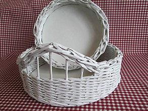 Košíky - Čisto biely - 5277611_