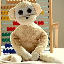 Hračky - opička kapučínko - 5277620_