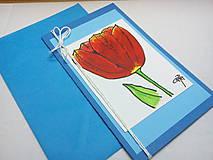 Papiernictvo - Modrá pohľadnica II - 5281024_