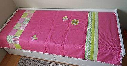 Úžitkový textil - Prehoz/prikrývka Leto - 5280681_