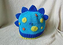 Detské čiapky - Jarná pre chlapcov- dino :) - 5278772_