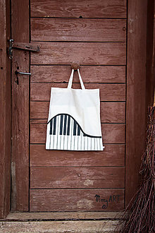 Nákupné tašky - Moja taška - Klavír - 5280611_