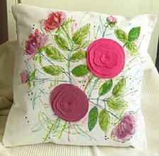 Úžitkový textil - Pivonky na vankúši - 5281217_