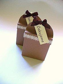Papiernictvo - krabička na svadobné perníčky - 5280384_