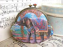 Taštičky - Taštička Slon Indický - 5278420_