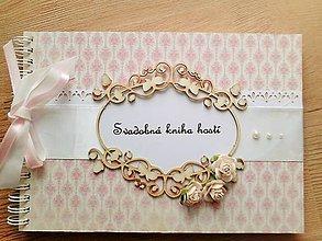 Papiernictvo - svadobný album/kniha hostí - 5278911_