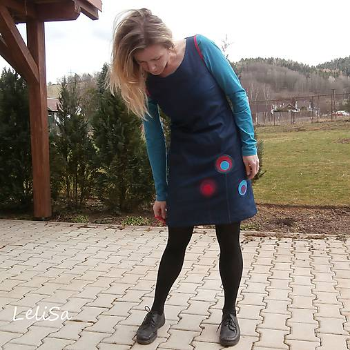 8d0087ba0 riflové šaty...od Lelisy / LeliSa - SAShE.sk - Handmade Šaty