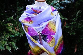Šály - Štóla a lá šaty Motýľová - 5284378_
