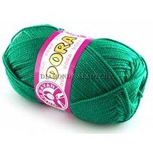 Galantéria - Dora 070 - trávovo zelená - 5285794_