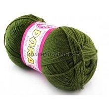 Galantéria - Dora 077 - armádna zelená - 5285803_