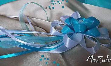 Pierka - svadobné pierko pre starostu v tyrkyse - 5285160_