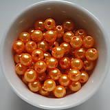 Korálky - Plast.perličky 6mm-50ks - 5284493_